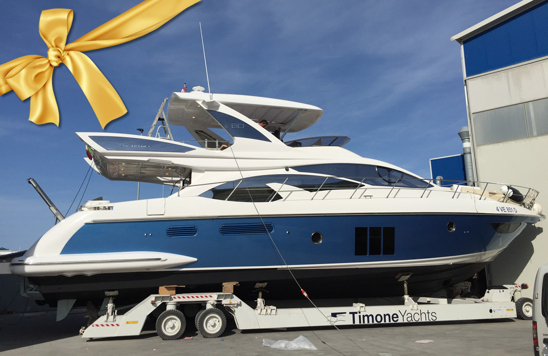 Azimut 60 - Timone Yachts delivery