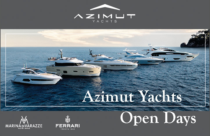 Meet the future with Azimut Yachts